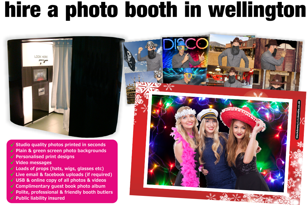 Photobooth & Photo Booth Hire, Wellington, Somerset